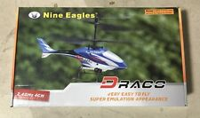 Nine Eagles Draco 4CH Micro Coaxial Rotor Beginner Helicopter  RTF