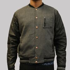 Mens Pearly King Victim Bomber Jacket - Black - RRP £100 NOW ONLY £44.99 - SALE
