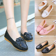 Women Girl Flats bow-knot Shoes Slip Comfort Sweet Shoes Flat Shoes Loafers 2016