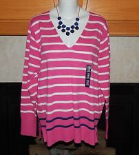 NEW GAP WOMENS CASUAL SWEATER SIZE XXL V-NECK LONG SLEEVE TOP BLOUSE SOFT COZY
