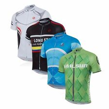 Bike Short Sleeves Men Cycling Jersey Summer Clothing Wear Breathable Tops