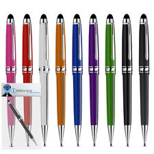 Roller Ball Stylus Pen With Rubber Tip For Yarvik TAB275 GoTab Ion Tablet