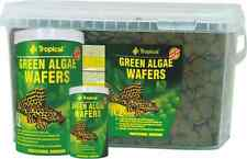 TROPICAL*GREEN ALGAE WAFERS *sinking wafers with spirulina for algae eaters