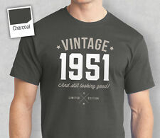 65th Birthday Gift Present Idea For Boys Dad Him & Men T Shirt 65 Tee Shirts