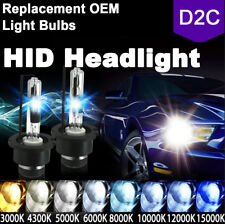 Pair D2S D2R D2C HID Xenon Light Bulbs Replace Stock 5K 6K 8K 10K HID Headlights