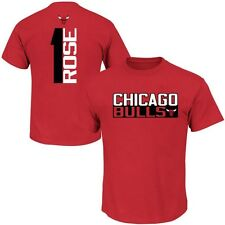 Chicago Bulls NBA Boys Derrick Rose #1 Player Shirt Red Youth Sizes