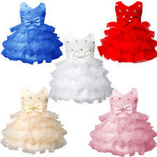 Toddler Baby Girl Princess Formal Party Dress Birthday Formal Party Costume