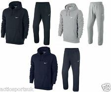 Nike Mens Full Tracksuit Fleece Hooded Jogging Bottoms Joggers - S M L XL