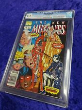 Marvel The New Mutants #98 FEB 1991 CGC 9.2 White Pages 1st Deadpool Appearance