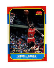 1986 - 1987 Fleer Michael Jordan Chicago Bulls #57 Basketball Card