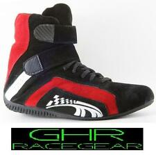 New Go Kart Race Boots Red Type R 1–13 GHR Racer Motor Sport Racing Shoes Arrow