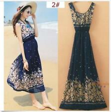 Evening Party Summer Beach  Maxi Long Boho Dress Chiffon Dress Dress  Sexy Women