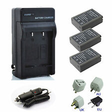 New Battery / Charger Kits for Olympus OMD EM5, OM-D E-M5 Mark II Digital Camera