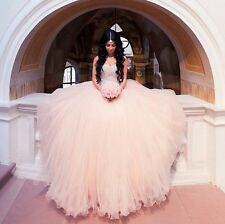 Hot Luxury Quinceanera Dresses Sweetheart Ball Gown Custom Prom Evening Dresses