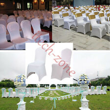 Chair Cover Spandex Lycra Cover Hotel Wedding Banquet Anniversary Party Decor UK