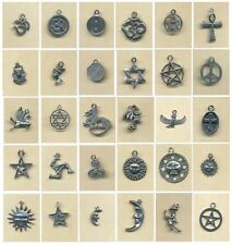 "1 ""Symbols"" pewter charm- 30 to choose from-"