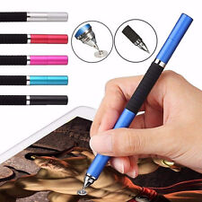 Universal 2in1 Capacitive Touch Screen Stylus Ballpoint Pen For iPhone Tablet LG