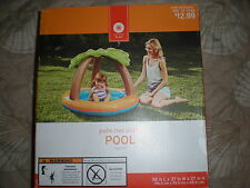 INFLATABLE PALM TREE SHADE POOL FOR AGES 1-3 SUMMER FUN