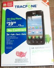 SEALED  TRACFONE LG OPTIMUS DYNAMIC II L39C TRIPLE MINUTES FOR LIFE