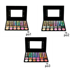 Eye Shadow 78Colors Eyeshadow Palette Earth Color Lady Nude Makeup Powder Palete