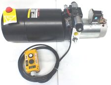 Hydraulic Power Pack 12 or 24Volt DC 2.5 KW Dbl Acting 9.0 Lt/Min Max 240 Bar