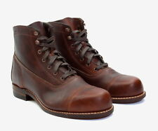 Wolverine Boots 1000 Mile Rockport tap toe W05293 Brown Leather