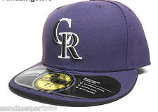 COLORADO ROOKIES ALTERNATE 2 New Era 59FIFTY Fitted Caps MLB AC On Field Hats