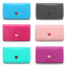 Womens Long PU Leather Wallet Clutch Card Holder Phone Coin Case Purse Handbag