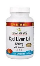 N/Aid  Cod Liver Oil 550Mg Caps  33% Free | 90+30+s | - Bulk Buy & Multipacks