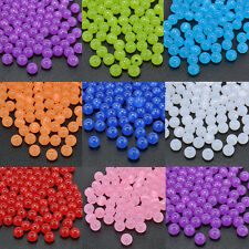 Wholesale 100PCS 8MM  Round Cats Eye Loose Beads Craft Jewelry Finding DIY