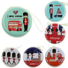 I Love London Souvenir Women Girls Kids Coin Change Pouch Bag Purse Wallet Case