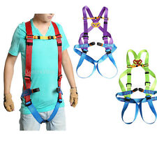 Rock Climbing Downhill Rescue Full Body Fall Arrest Protection Harness 3 Colors