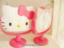 New Cute Hello Kitty Cartoon Rotatable Cosmetic Mirror Desk Table Make Up Mirror