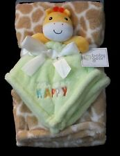 Baby/Toddler Blanket With Plush Toy Unisex