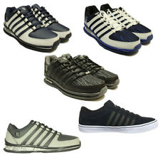 MENS BRAND NEW KSWISS TRAINERS RINZLER IN BLACK GREY WHITE COLOURS ALL SIZES