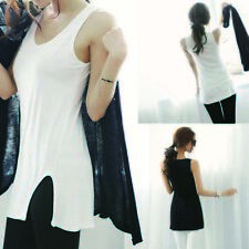 Sexy  Tank Tops Vest Camisole Sleeveless T-Shirt Cami Bottoming