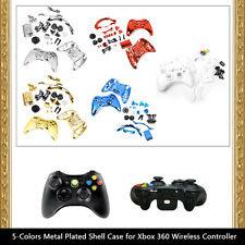 Full Housing Shell Case Kit Replacement Parts for Xbox 360 Wireless Controller