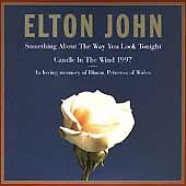 Something About the Way You Look Tonight/Candle in the Wind 1997 Elton John CD