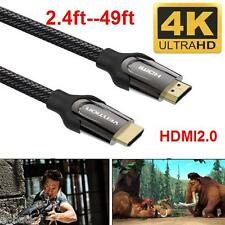 High Quality HDMI Cable V2.0 4K@60Hz 3D 1080P HDTV LCD LED XBOX PS4 Blueray Lot
