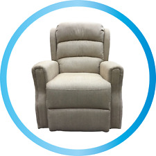 Kendal Dual Motor Electric Rise & Recline Fabric Recliner Armchair Chair