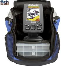 HOOK-3x Fishfinder All Season Pack With 83/200 kHz Transducer & Ice Transducer