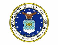 AIR FORCE EMBLEM! DECOPAC EDIBLE IMAGE DECORATING CAKE TOPPER! FREE SHIPPING!