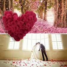 Wholesale Roses Petals Table Flowers Scatter Wedding Confetti Venue Decoration