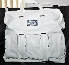 Crooks and Castles Utility Weekend bag White