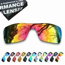 TAN 2 Pairs Polarized Lenses Replacement for-Oakley Batwolf OO9101 Sunglasses