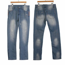 Fashion Mens Jeans Trousers Stylish Designed Straight Slim Fit Casual Jean Pants