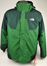 THE NORTH FACE MENS CAMBRIA TRICLIMATE JACKET CONIFER GREEN FLEECE LINER