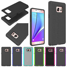 NEW Shockproof Hybrid Dual Layer Heavy Duty Case Cover For Samsung Galaxy Note 7