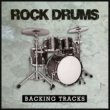 Rock Drum Backing Jam Tracks for Guitar & Bass - CD or Download - High Quality