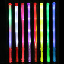 1Pc Wand LED Glow Flashing Light Up Stick Patrol Blinking Concert Party Favors C